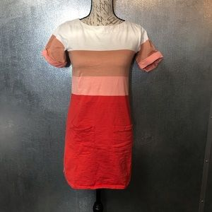 J Crew Wide Stripe Dress